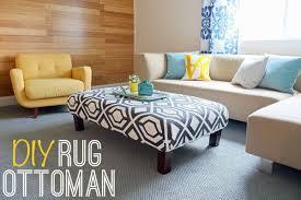 rug ottoman