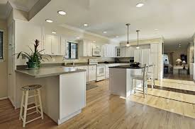 delighful hardwood floors in kitchen pictures of wood and design ideas