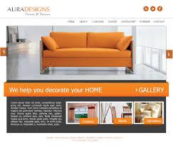 Interior Designer Website by Ofek Technologies Templates Furniture U0026 Interior Design Website