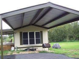 metal porch roofs for mobile homes