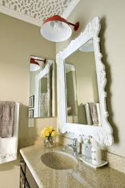 mirror wall decor stickers extremely ideas bathroom inspirations