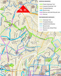 Raleigh Map Raleigh Bike Plan Update Shows Us The Network