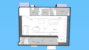 container house floor plan 3d warehouse