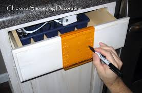 Kitchen Cabinet Door Knobs And Handles by Chic On A Shoestring Decorating How To Change Your Kitchen