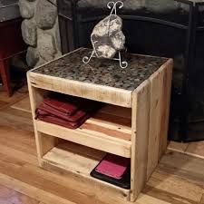 diy on how to make a pallet table with a coin or penny top youtube
