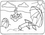 bathing suit coloring page