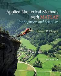 buy applied numerical methods w matlab for engineers u0026 scientists
