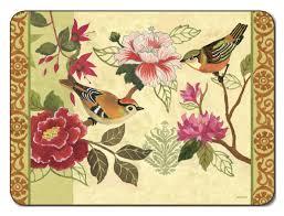 placemats.de | Jason Bird Study Tischsets | Blumen - Jason_BIRD_STUDY_placemats_big