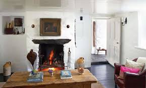 Modern Country Homes Interiors Restoring A Thatched Cottage Period Living Decor English