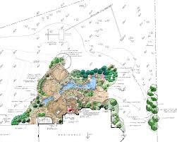 landscape design site analysis u0026 master plan