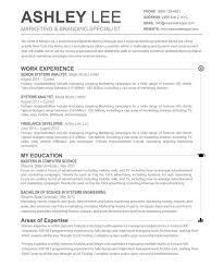 Pdf Resume Builder Resume Templates Free Word Document