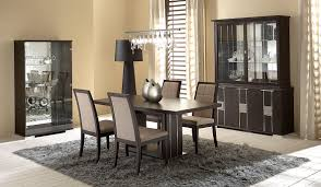 modern dining room tables shaped modern black dining room table