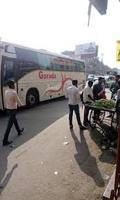 Kakinada Banglore GARUDA Bus at KR Puram