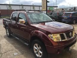 2008 58 nissan navara 2 5 dci outlaw diesel burgundy 115 000