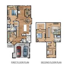 inspiring home floor plans color custom house floor plans snoznik
