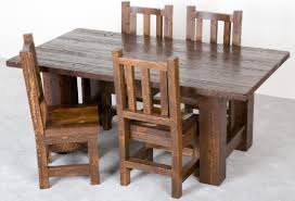 Barnwood Mission Table Barnwood Tables And Dining Room Furniture - Barnwood kitchen table