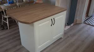 new kitchen makeover doors bella style york colour ivory worktop