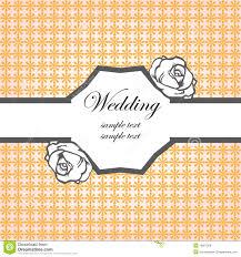 Card Invitation Wedding Card Invitation Template Royalty Free Stock Image Image