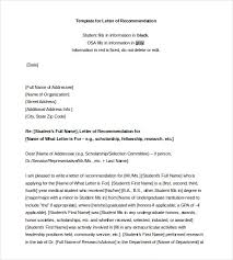 sample recommendation letter for student scholarship                  employee co worker thumb jpg