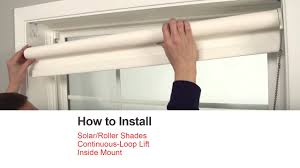 bali blinds how to install solar roller shades with continuous
