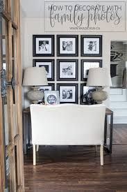 How To Decorate Walls by How To Decorate With Family Photos