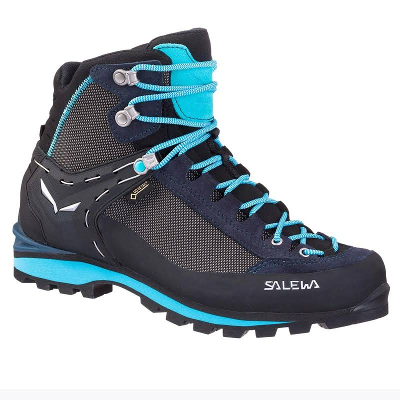 Salewa Crow GTX Mountaineering Boots Premium Navy/Ethernal Blue 9.5 US 00-0000061329-3985-9.5