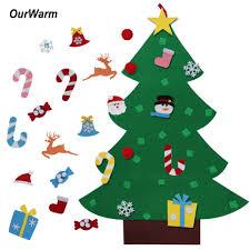online get cheap felt christmas tree for kids aliexpress com