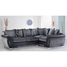 Cheap Corner Sofa Bed Cheap Sofa Uk Malta Fabric Corner Sofa Range Black U0026 Grey