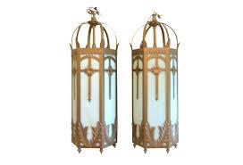vintage gothic pendant lights large omero home