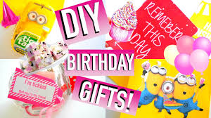 diy birthday gift ideas easy u0026 affordable quick cute