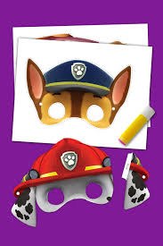 Halloween Masks Printables 5 Paw Patrol Halloween Printables Nickelodeon Parents