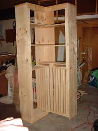 Diy Home Projects by Corner Bookshelf Plans Corner Shelf Do It Yourself Home Projects