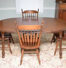 tell city maple dinette set ebth