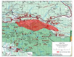 New Mexico Wildfire Map by 13 000 Acre Lake Fire Continues To Burn Near Big Bear Evacuation