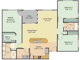 3 Bedroom Apartment Floor Plan 1 2 And 3 Bedroom Apartments In Phoenix Sage Luxury Apartment