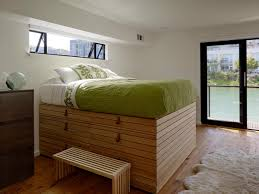 How To Build A Full Size Platform Bed With Drawers by 10 Beds That Look Good And Have Killer Storage Too Hgtv U0027s