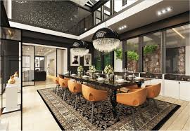Decor For Dining Room Table Dining Rooms That Mix Classic And Ultra Modern Decor