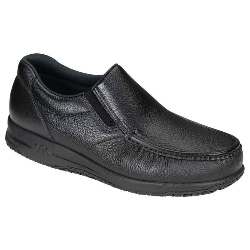 SAS Navigator Slip-On Moc Toe Shoe, Adult,