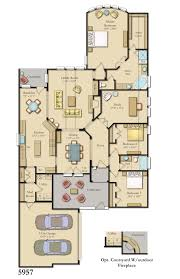 Floor Planners by Colored And Furnished Floor Plans For New Homes From Bdx