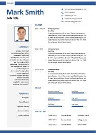 Resume Samples For Jobs In Usa by Free Downloadable Cv Template Examples Career Advice How To