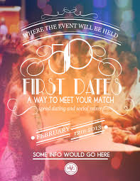 Speed Dating Flyers by Amanda Marie  via Behance   Event Planning