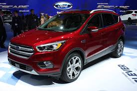 Ford Escape Sport - 2017 ford escape debuts with new look more tech