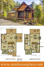 Small Cottage Floor Plan Small Cottage Plan With Walkout Basement Rustic Cottage Cottage