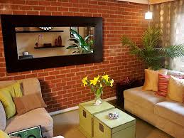 Simple Living Room 25 Brick Wall Designs Decor Ideas For Living Room Design