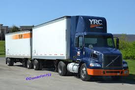 volvo freight trucks yrc freight flickr