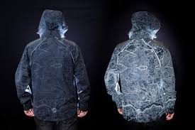 reflective bike jacket styling by day visible by night find your way with new