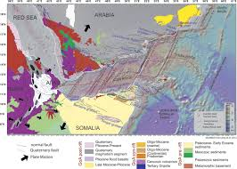 Map Of The Red Sea Architecture Of Rifted Continental Margins And Break Up Evolution