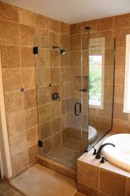 Walk In Shower Ideas For Small Bathrooms Small Bathroom Remodel And Chrome Metal Shower Sets Also Photos F