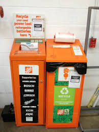 gorgeous home depot battery recycling on battery recycle bin home