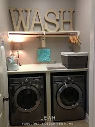 simplify and organize your laundry room closet when i redecorate